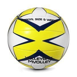 SPOKEY - MVOLLEY  Volejbalová lopta žltá rozm.5