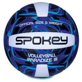SPOKEY - PARADIZE III Volejbalová lopta modro-biela vel.5