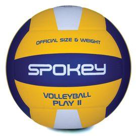 SPOKEY - PLAY II Volejbalová lopta žlto-modrá vel.5