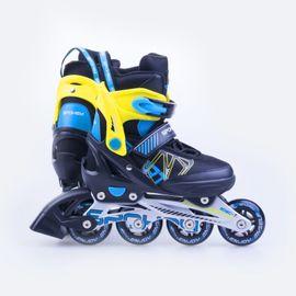 SPOKEY - SPEEDSTAR Kolieskové korčule čierno-modré ABEC7 Carbon veľkosť .37-40