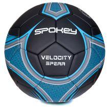 SPOKEY - VELOCITY SPEAR - Futbalová lopta čierno-modrá vel.5