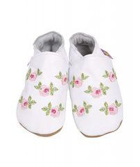 STARCHILD - Kožené topánočky - Rosa White - veľkosť XL (18-24 mesiacov)