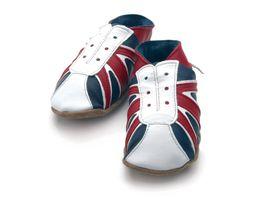 STARCHILD - Kožené topánočky - UK Trainer - Kids - veľkosť S - 25-26 (3-4 roky)