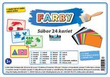 Súbor 24 kariet - farby -  Petr Kupka