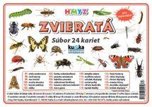 Súbor 24 kariet - zvieratá (hmyz) -  Petr Kupka