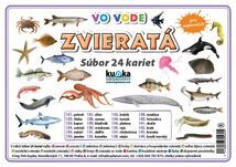 Súbor 24 kariet - zvieratá (vo vode) -  Petr Kupka