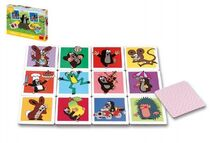 TEDDIES - Veľké Krtečkove pexeso Krtko spoločenská hra v krabici 27x19x4cm 2+
