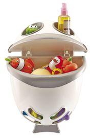 THERMOBABY - Box na hračky do kúpeľne Bubble Fish - šedá