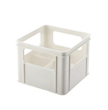 THERMOBABY - Box na široké kojenecké fľaše, White