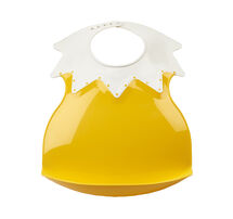 THERMOBABY - Plastový podbradník s límcom, Pineapple