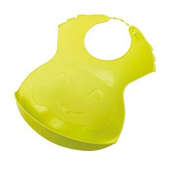 THERMOBABY - Plastový podbradník, Zelený