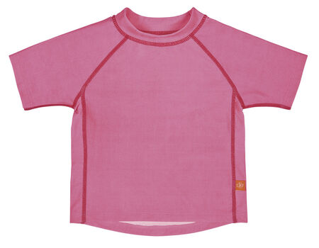 LÄSSIG - Tričko Rashguard Short Sleeve Girls - light pink XL