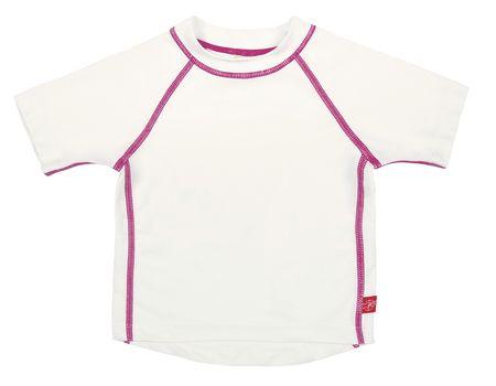 LÄSSIG - Tričko Rashguard Short Sleeve Girls - white XL