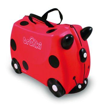 TRUNKI - Cestovný kufrík Lienka