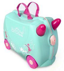 TRUNKI - Cestovný kufrík TRUNKI - Víla - FLORA