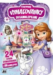 Tvarované vymaľovanky/ Sofia Prvá - Disney