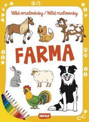 Velké omalovánky/Veľké maľovanky - Farma