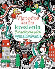 Vianočná kniha - kreslenia,čmárania, vymaľovávania - Kolektív