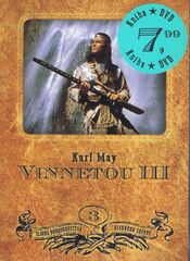Vinnetou III (kniha + DVD) - Karl May