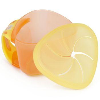 VITAL BABY - Detská miska Snackbox, oranžová