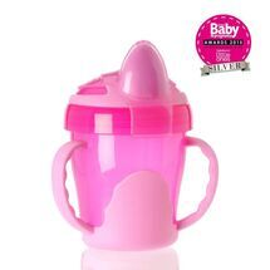 VITAL BABY - Detský výučbový hrnček 200 ml, ružový
