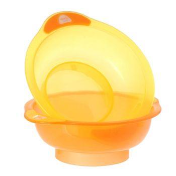 VITAL BABY - Dve misky Unbelievabowl - oranžová
