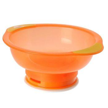 VITAL BABY - Miska s prísavkovou nohou Unbelievabowl - oranžová
