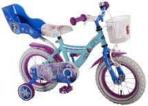 """VOLARE - Detský bicykel , Frozen 12 """" Banana, Blue, zložený na 95 %"""