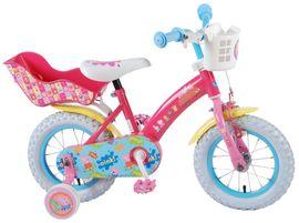"""VOLARE - Detský bicykel pre dievčatá, Peppa Pig ,,12"""" - ružový"""