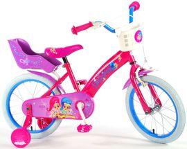 """VOLARE - Detský bicykel pre dievčatá, Shimmer & Shine ,,16"""" - ružový"""