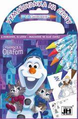 Vymaľovanky na cesty/ Vianoce s Olafom - Disney