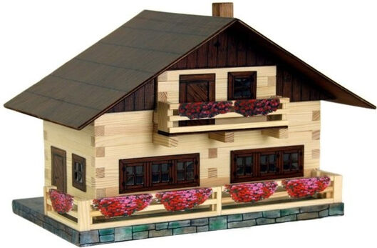 WALACHIA - Drevená stavebnica - alpská chata