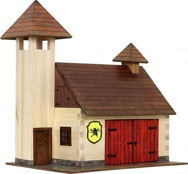 WALACHIA - Drevená stavebnica - hasičská zbrojnica