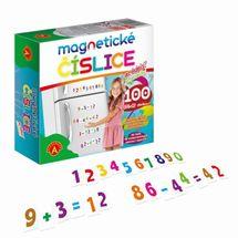 WIKY - Čísla magnetické 100 ks