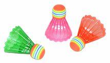 WIKY - Farebné košíky na badminton 3ks