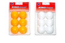 WIKY - Loptičky na stolný tenis - žltá
