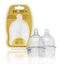 YOOMI - cumlíky na fľašu teats Super Slow flow - Y2SSFT
