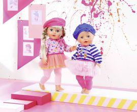 ZAPF CREATION - Baby Born Letné šatôčky s čiapočkou 824528