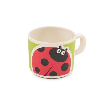 Zopa - Bambusový hrnček, Ladybird