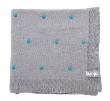 ZOPA - Detská deka Dots, Mint