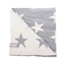 ZOPA - Detská deka Stars, Grey