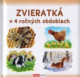 Zvieratká v 4 ročných obdobiach (Slovenské vydanie)