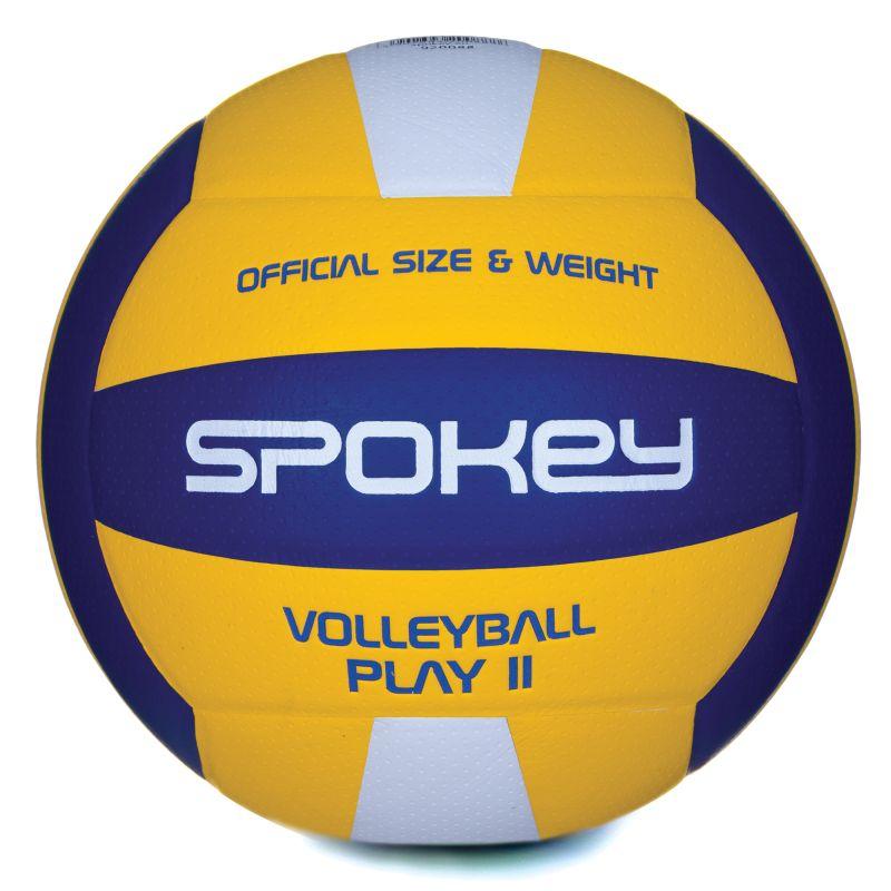 SPOKEY - PLAY II Volejbalová lopta žlto-modrá vel.5 - Market24.sk acd51586162