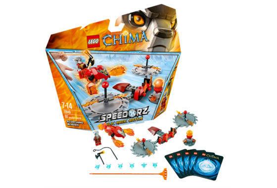LEGO - CHIMA 70150 Ohnivé pazúry - Market24.sk 5e7dacc4589
