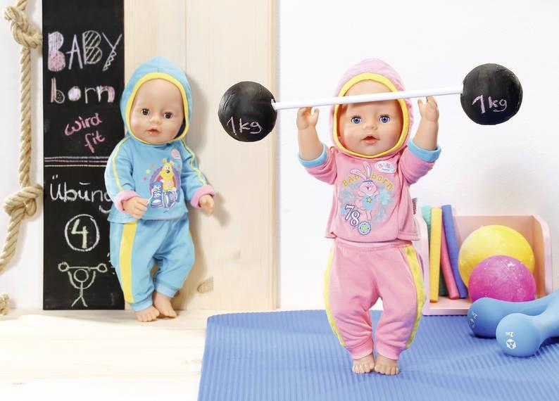 ZAPF CREATION - Baby Born Tepláková súprava 2 druhy 823774 - Market24.sk 5237e4669c0