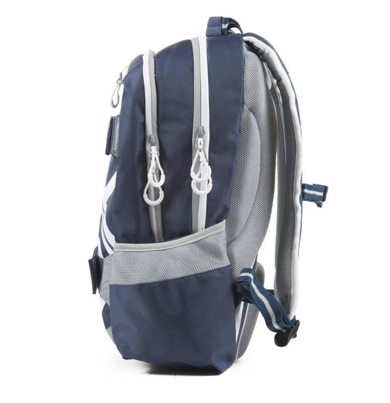 4dc0124ebc KARTON PP - Študentský batoh OXY Sport BLUE LINE White 46cm ...
