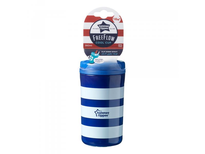 TOMMEE TIPPEE - Termohrnček Free Flow Cool Cup 380ml 18m+ - Market24.sk 59e21932986