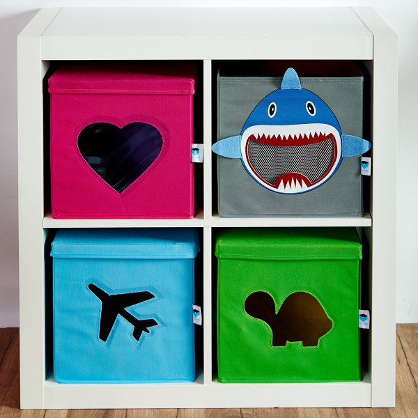 f5f51581b LOVE IT STORE IT - Úložný box na hračky - žralok - Market24.sk
