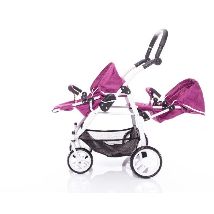 68b78c906c365 BRITAX - Kočík pre bábiky DUO Twin - Col. cool Berry - Market24.sk