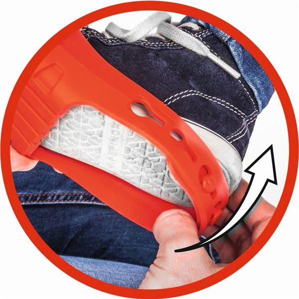 db6c39fce337 BIG - Ochranné návleky na topánky červené - Market24.sk
